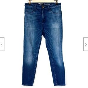 Mossimo High Rise Jegging Crop Jeans 8 29 Stretch